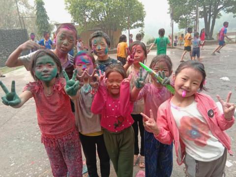 Holi Festival 2021 - Great Compassion Boarding School