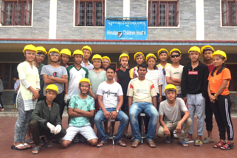 Himalayan Children Hostel: Praktikum