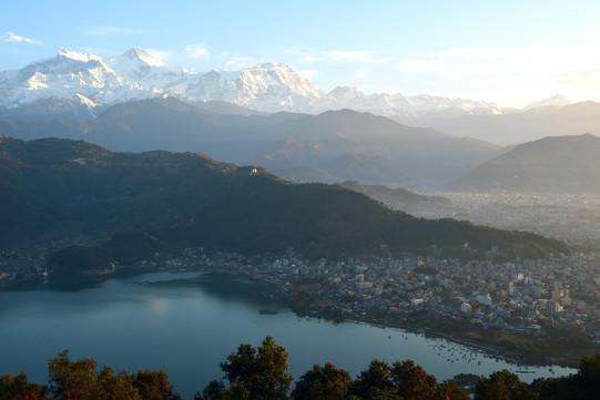 Pokhara und der Phewa See